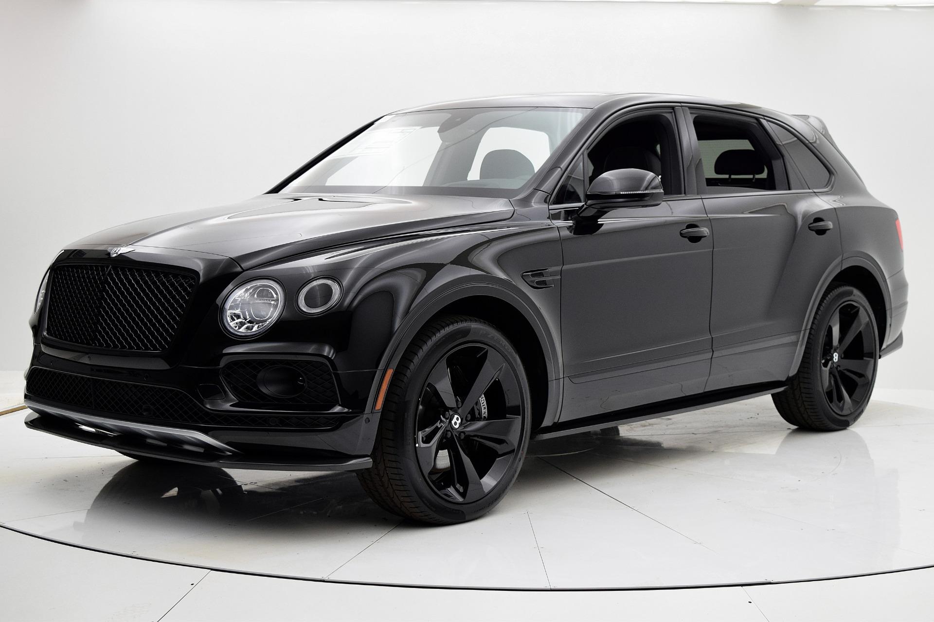 Bentley Bentayga Black Edition 2018 Avalanche